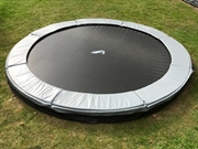 Akrobat Grashopper Inground trampoline 250 (Grijze rand)