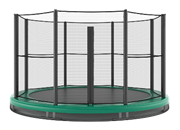 Akrobat Orbit Inground trampoline 244