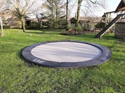 Akrobat Primus Flat to the ground trampoline, rond 305