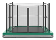 Akrobat Orbit Inground trampoline 305x183